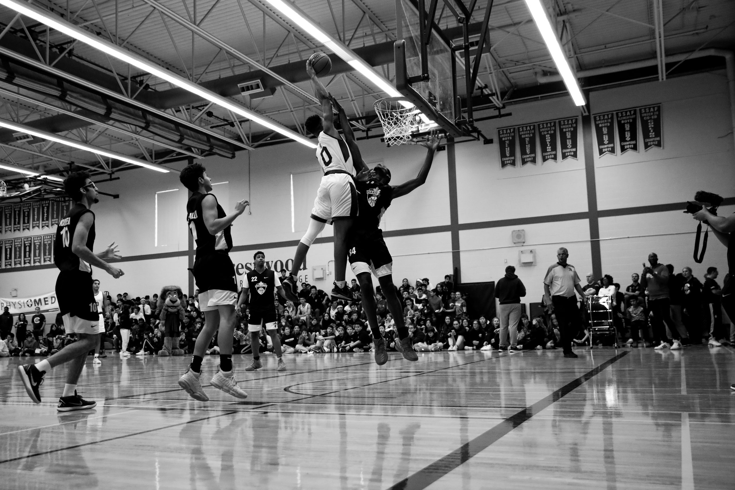 Jahcobi Neath, Crestwood basketball player with the huge dunk in his senior year.