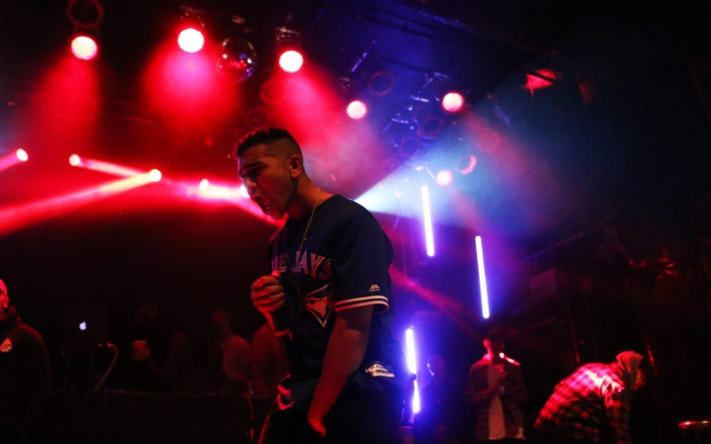Ramriddlz performs at uTOpia Fest 2016 at the MOD Club Theatre. Luke Galati Photography