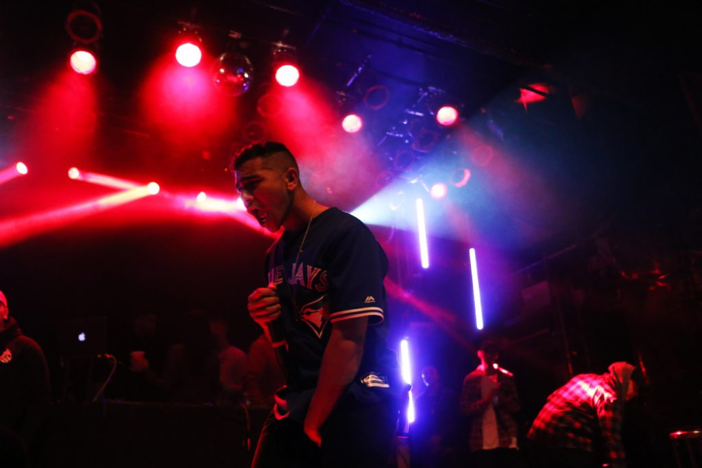 Ramriddlz performs at uTOpia Fest 2016 at the MOD Club Theatre. Luke Galati Photography