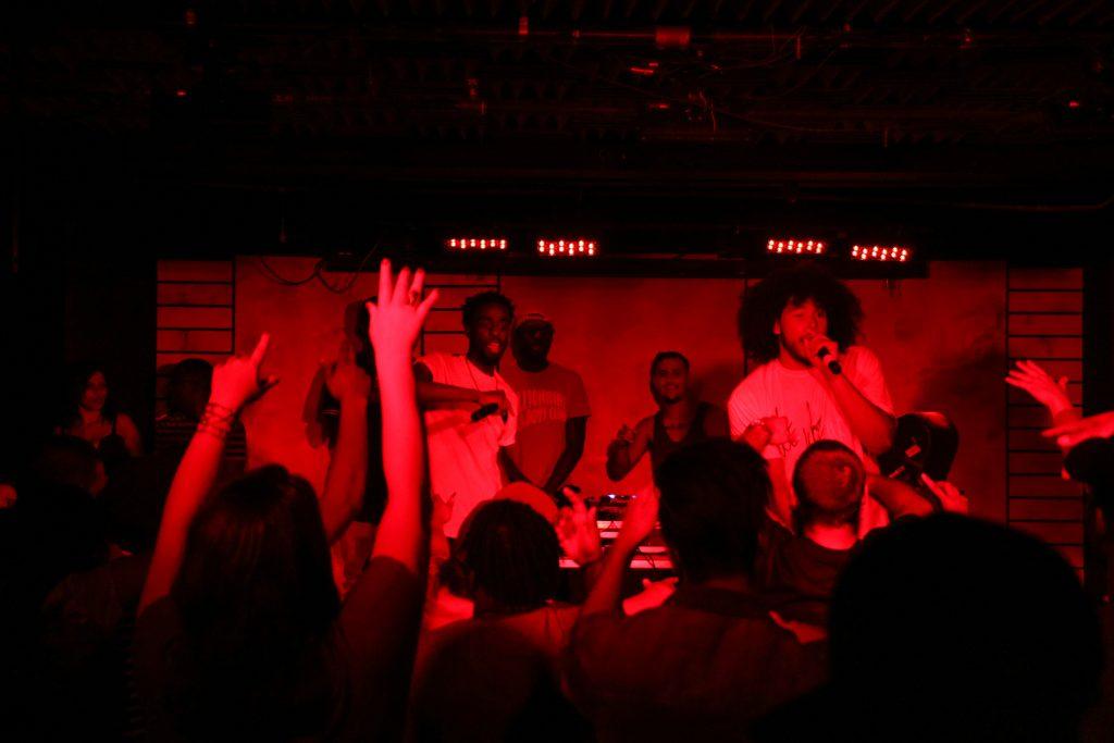 Jay Glavany and Devontée perform at a Toronto concert. Luke Galati Photography