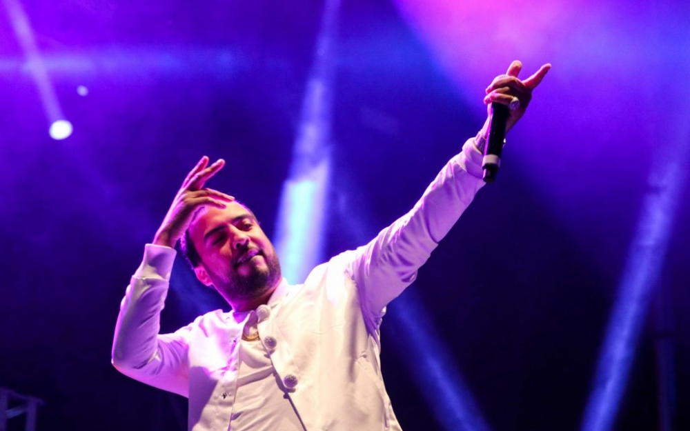 French Montana performs in Toronto - Photo by Luke Galati.