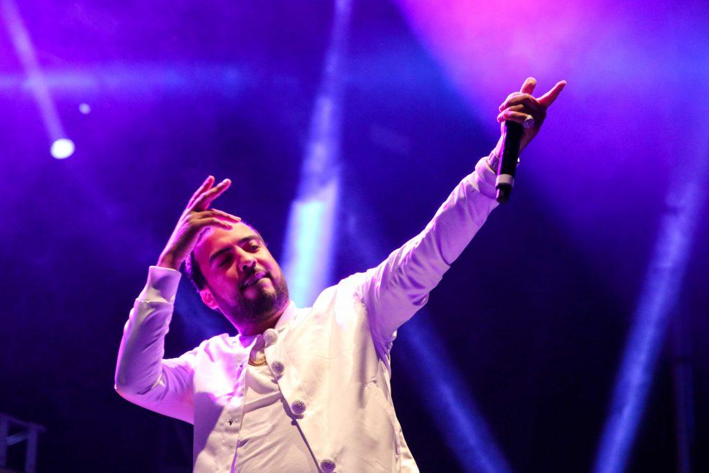 French Montana performs in Toronto. Photo taken by Luke Galati