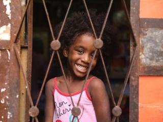 Adaimi, in her home in central Havana, Cuba. Photo by Luke Galati