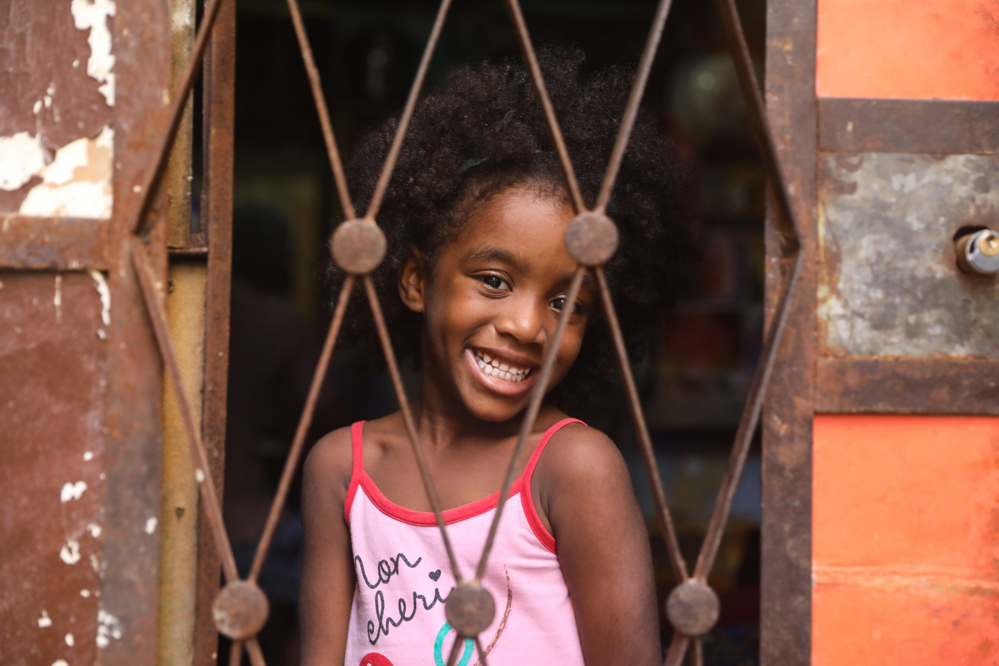 Adaimi, in her home in central Havana, Cuba. Photo by Luke Galati