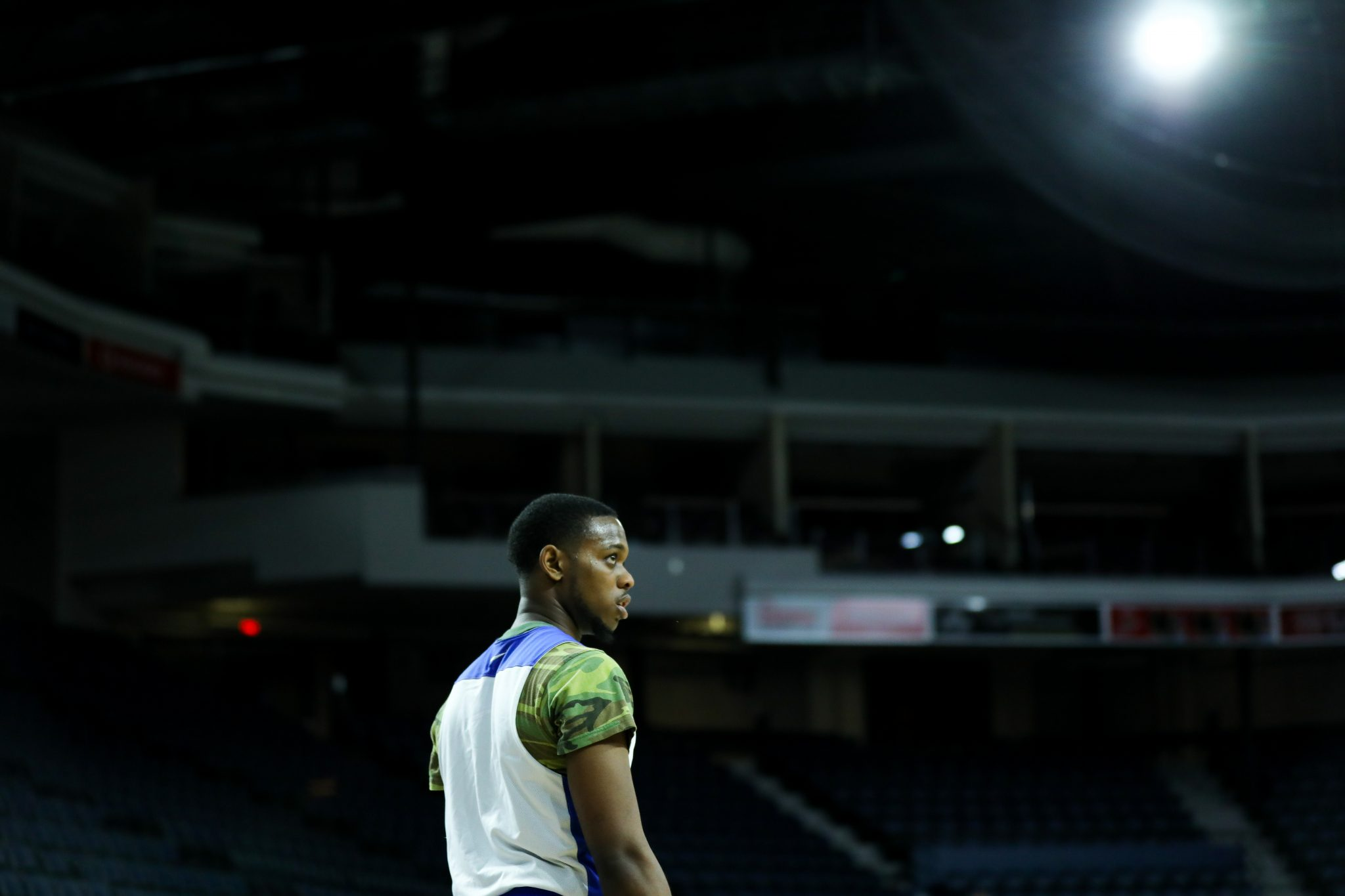 Ryerson Rams guard, Roshane Roberts in Halifax. Photo by Luke Galati