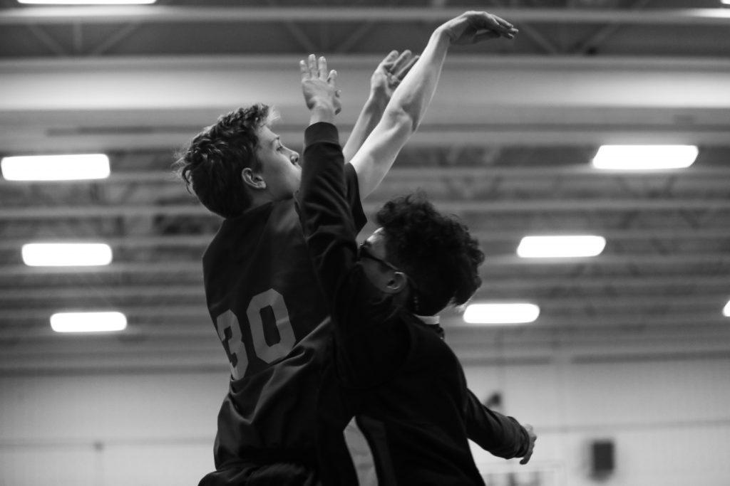 East York basketball rep basketball team. Photo by Luke Galati in Toronto.