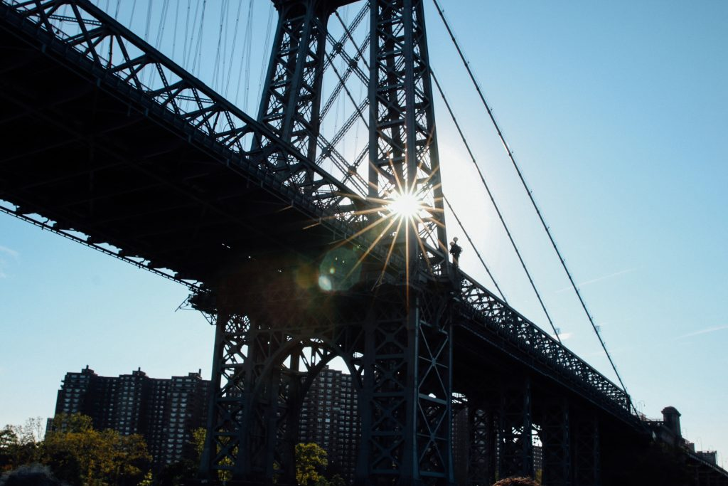 New York's Williamsburg Bridge. Taken by Luke Galati