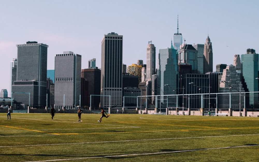Soccer in New York City. Luke Galati Photography
