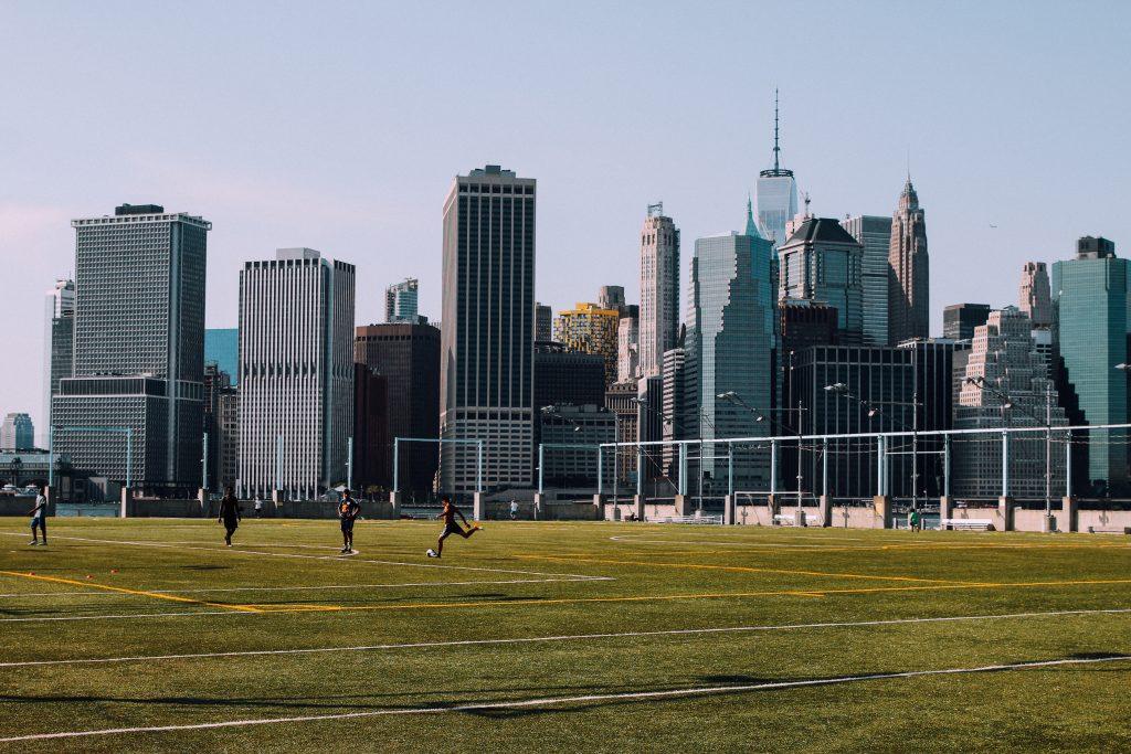 Soccer in New York City. Luke Galati Photography