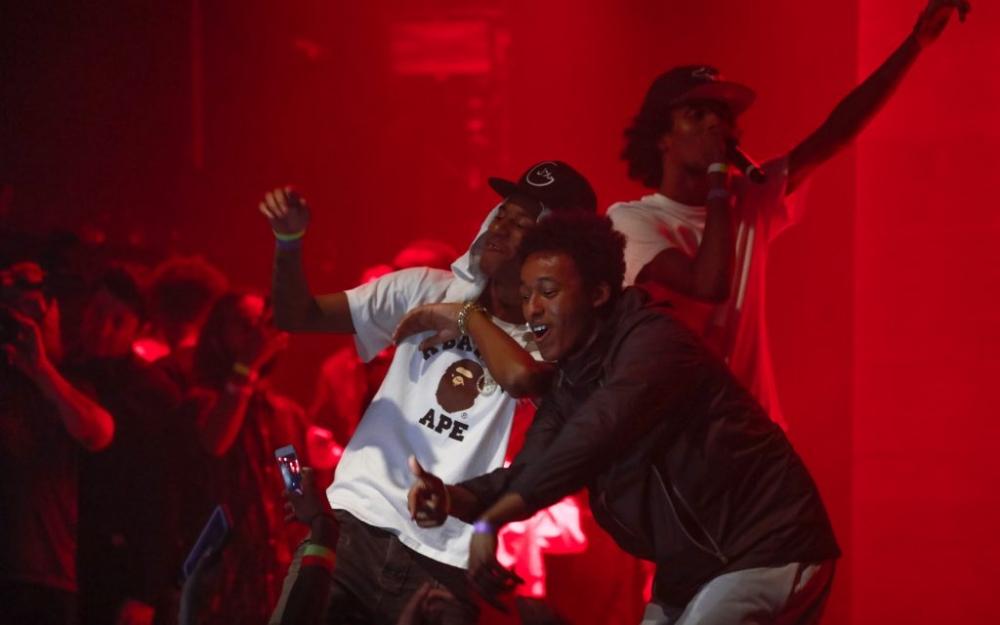 Smoke Dawg, Mo-G & Puffy L'z perform in Toronto. Luke Galati photography.