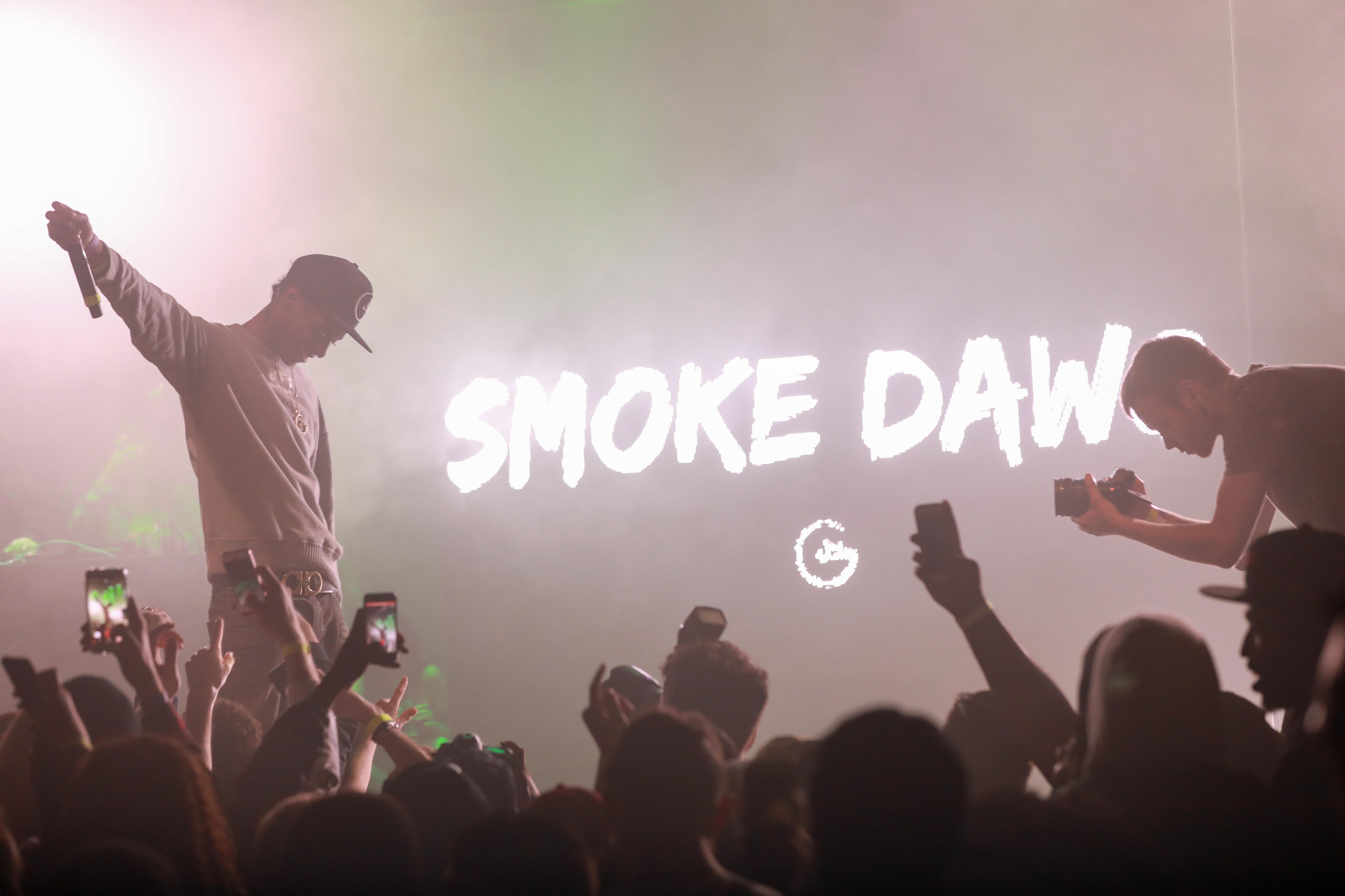 Toronto rapper, Smoke Dawg performs in Toronto. Luke Galati photography.