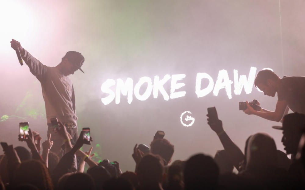 Smoke Dawg performs in Toronto. Photo by Luke Galati